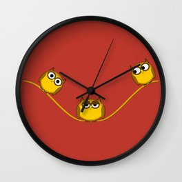 King of the wire Wall Clock