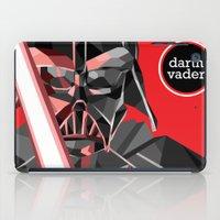 darth vader iPad Cases featuring darth vader by daydreamer89