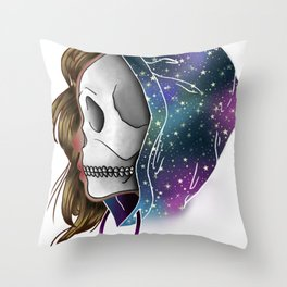Chilled to the Bone Throw Pillow