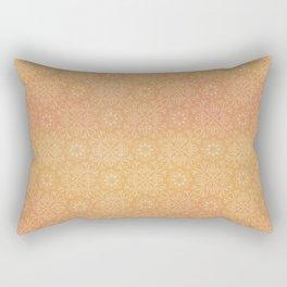 Indian Summer Mandala Copper Rectangular Pillow
