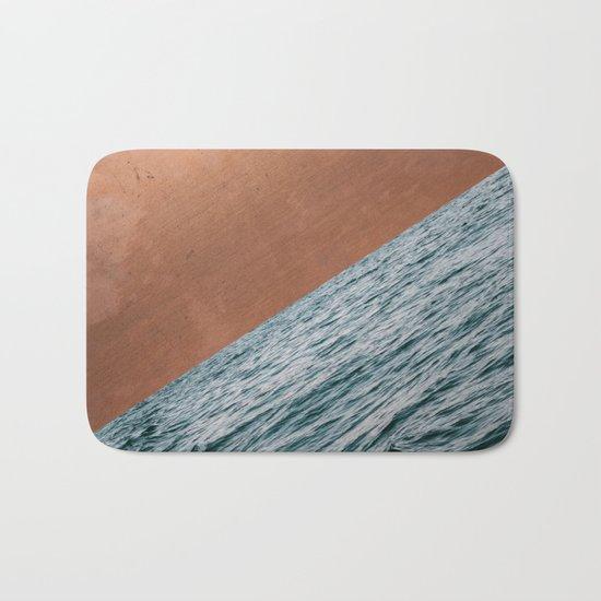 Ocean + Copper #society6 #buyart #decor Bath Mat