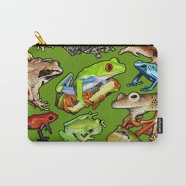 Save Our Species - Frog Poster Print Carry-All Pouch