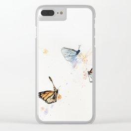 Tea Garden Clear iPhone Case