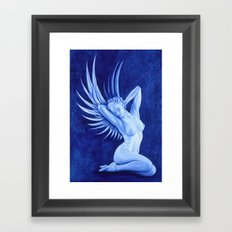 Blue Angel Framed Art Print