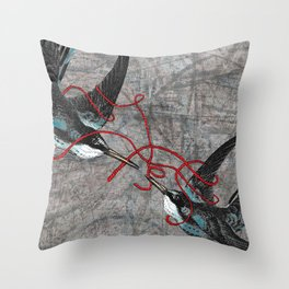 For Better or Worse (aka Tying the Knot) Throw Pillow