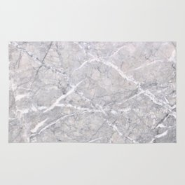 Through the Branches Grey Marble Rug