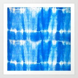Tie Dye in Blue Art Print