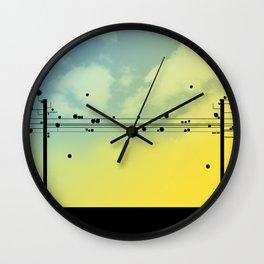 Digital Cords Wall Clock