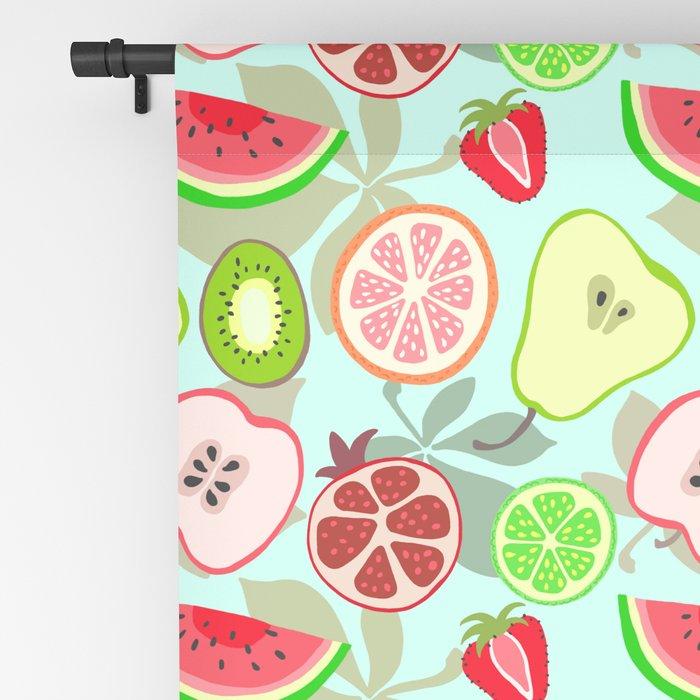 cut fruit Blackout Curtain