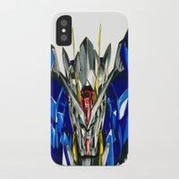 gundam iPhone & iPod Cases featuring Gundam 00 by Glen Howy
