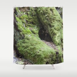 Moss Forest Shower Curtain