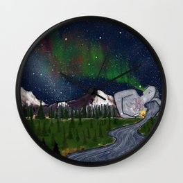 Sleeping Lady Wall Clock