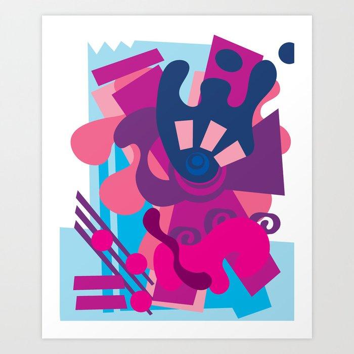 Blue Berry Smoothie Kunstdrucke