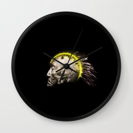 Cyber Punk Chief Wall Clock