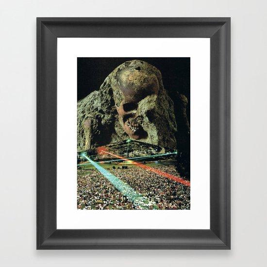 /# Framed Art Print