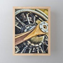 Propeller Framed Mini Art Print