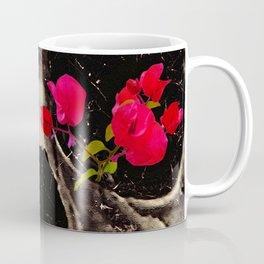 Death and Flowers Coffee Mug