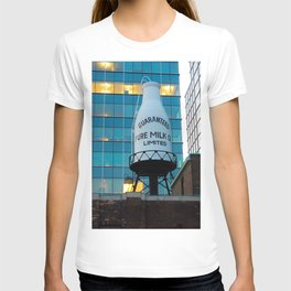 Milk Bottle on Roof T-shirt