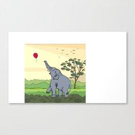 Lucas | Elephant Canvas Print