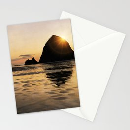 Cannon Beach haystack Stationery Cards