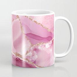 Pink Mermaid Marble  Coffee Mug