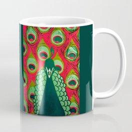 Pink Pavo Coffee Mug