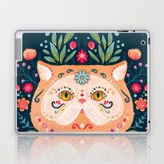 Candied Sugar Skull Kitty Laptop & iPad Skin