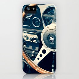 Old Triumph Wheel / Classic Cars Photography iPhone Case