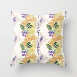 Juneberry Fantasy Throw Pillow