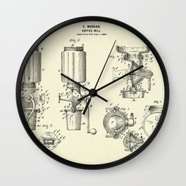 Coffee Mill-1900 Wall Clock