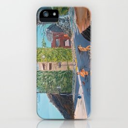 Time for an earth bath iPhone Case