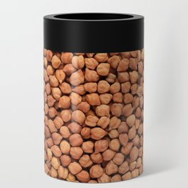 Black chickpeas food background Can Cooler