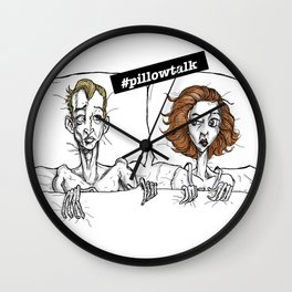 Pillow Talk Wall Clock