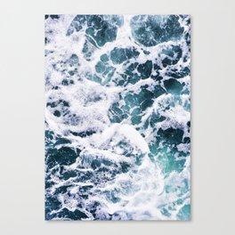 Rough Ocean Canvas Print