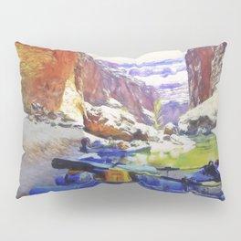 Rafting Rest Area Pillow Sham