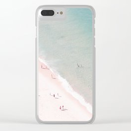 beach - summer of love Clear iPhone Case