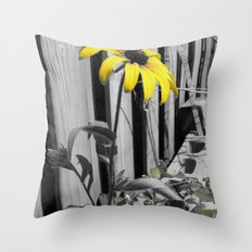 Against The Boards Throw Pillow