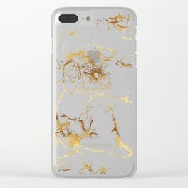 KINTSUGI  ::  Accept Fate Clear iPhone Case