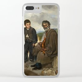 Edouard Manet, The Old Musician, 1862 Clear iPhone Case