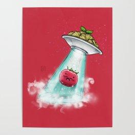 UFO. Italian Spaghetti Dreams Poster