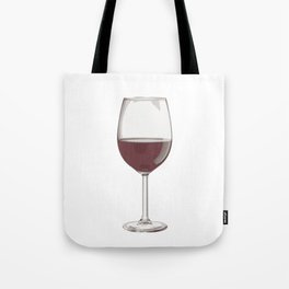 A Glass of Red Wine Tote Bag