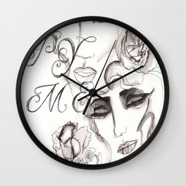 Copy Me Wall Clock