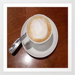Rise and Shine Cafe con Leche Coffee! Art Print
