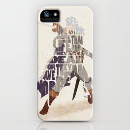 The White Falcon iPhone Case