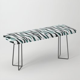 Here Kitty Kitty - Teal Bench