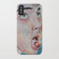 cherry iPhone & iPod Cases featuring Cherry by SirScm