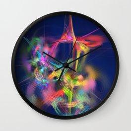 Passion Nectar #Abstract #Art by Menega Sabidussi #society6 Wall Clock
