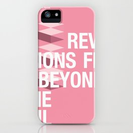 IGNS poster design iPhone Case
