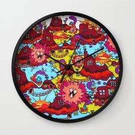 Choo-choo Hazeville Wall Clock