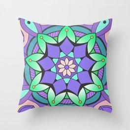 Mandala Awakening 2 Throw Pillow
